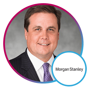 Jeff Macmillan, Chief Analytics and Data Officer, Morgan Stanley