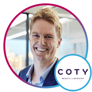 Jason Forbes, Chief Digital Officer, Coty