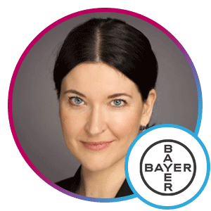 Saskia Steinaker, VP and Global Lead, Digital Excellence, Bayer