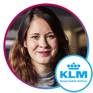 Martine Van Der Lee, Global Director, Social Media, KLM